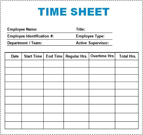 Time Log Template best of time log template excel free template