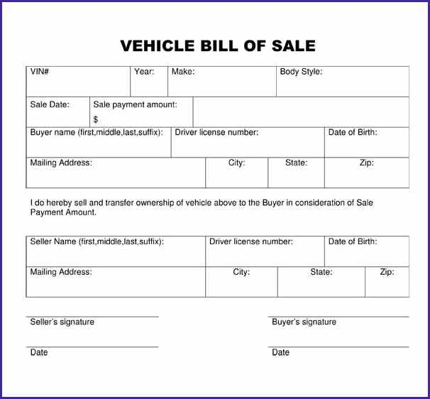 Trailer Bill Of Sale Template shatterlioninfo - bill of sales generic