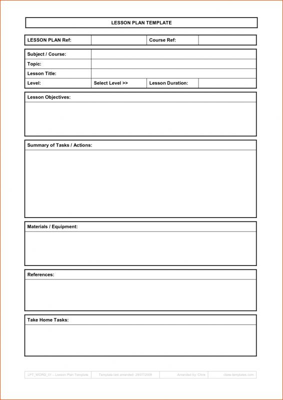 Weekly Lesson Plan Template shatterlioninfo