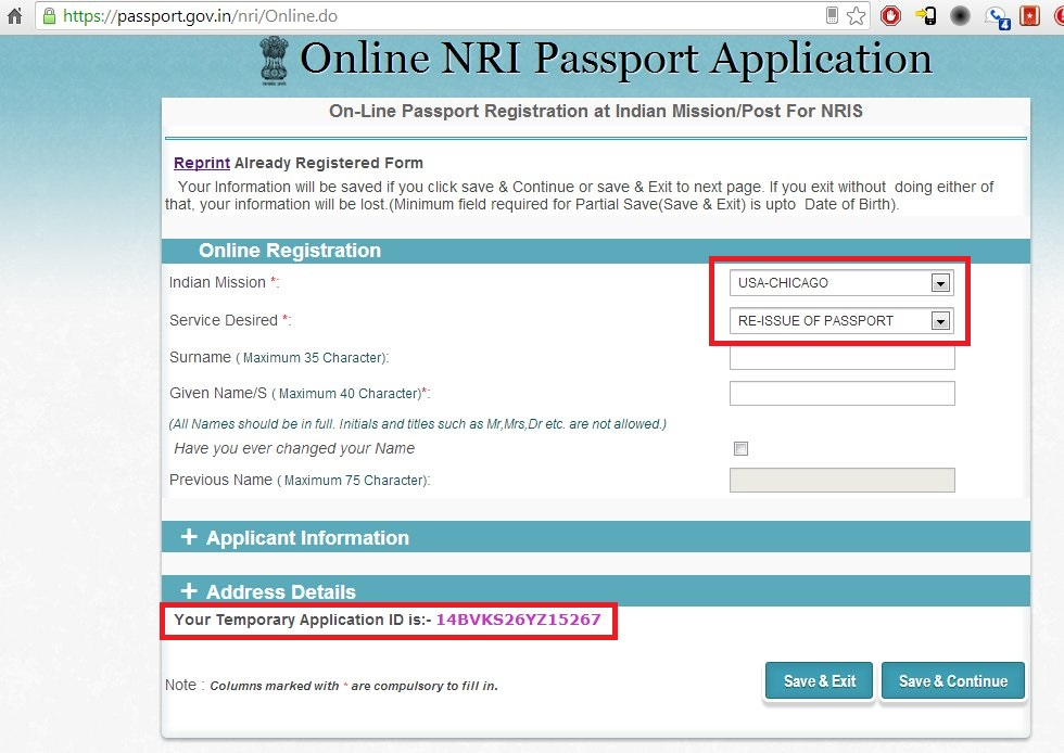 indian passport renewal in USA In the Line of FireRamblings of - passport renewal application form