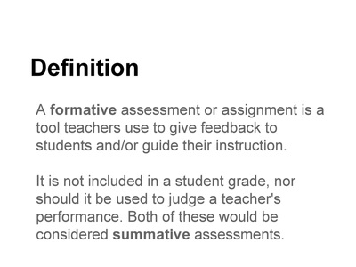 56 Examples of Formative Assessment - shaunbrickmanweebly