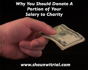 Why You Should Donate to Charity
