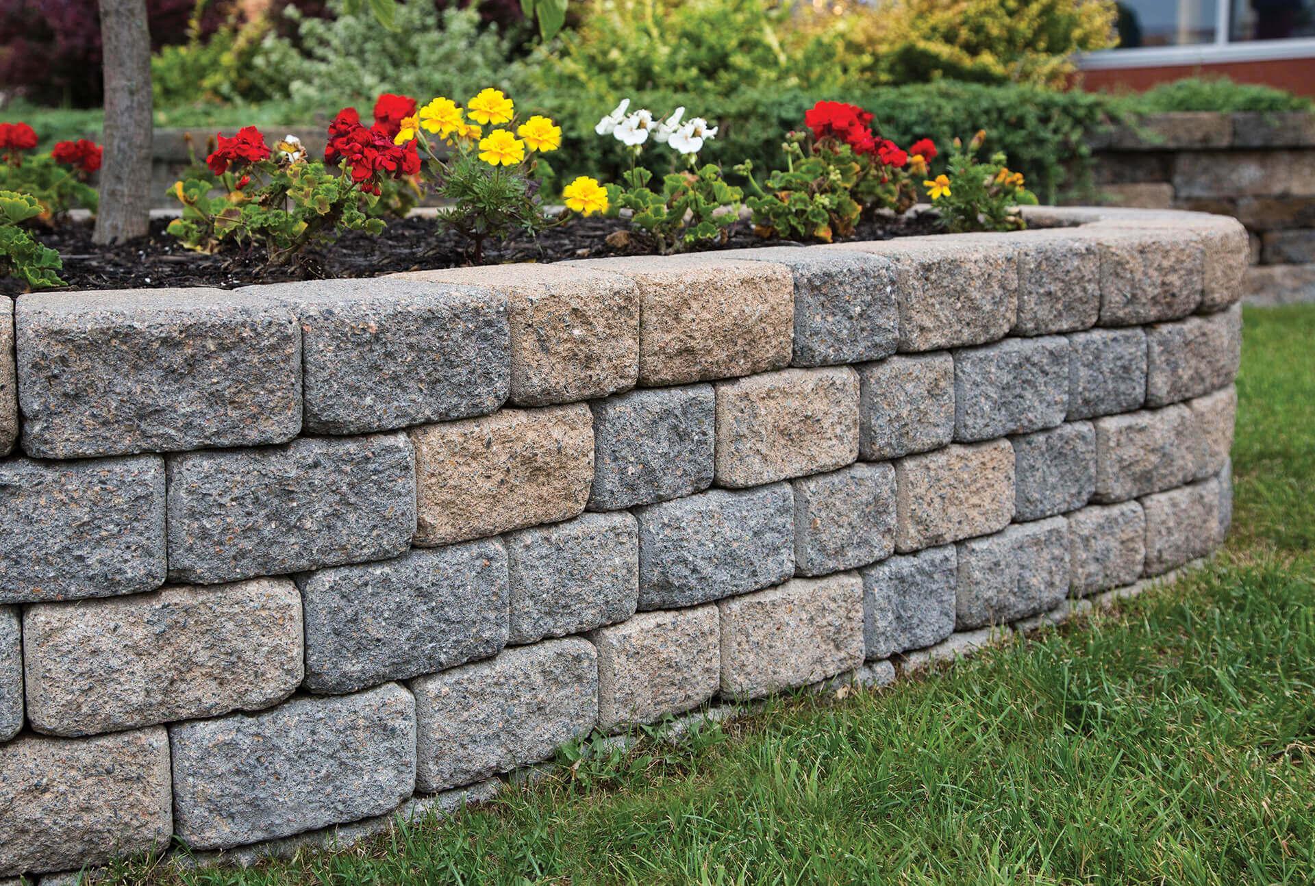 Comfortable Easy Steps Installing A Garden Wall Easy Steps Shaw Brick Easy Garden Walkways Easy Garden Wall Installing A Garden Wall garden Easy Garden Wall