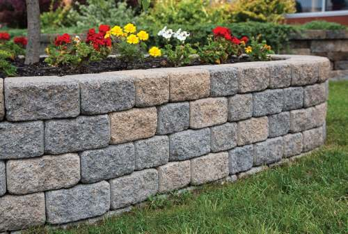 Medium Of Easy Garden Wall