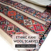 Pashmina shawl, silk scarves manufacturers in India