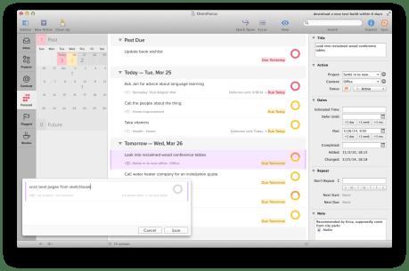 Beta 2 of OmniFocus 2 for Mac