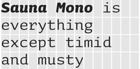 Sauna Mono