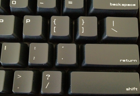 The Quote Key on the Das Keyboard