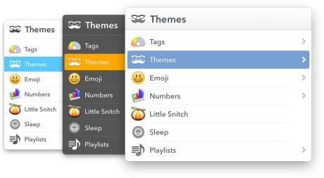 LaunchBar 6 Themes
