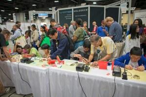 SparkFun USASEF 2014 soldering