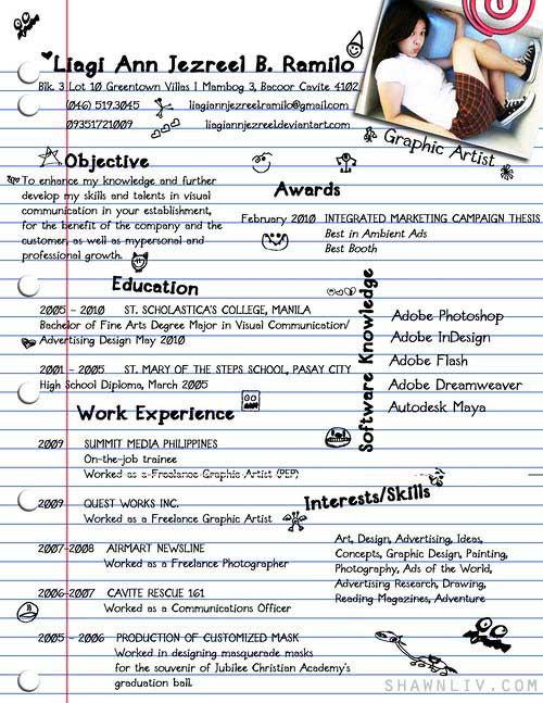 original resume templates free