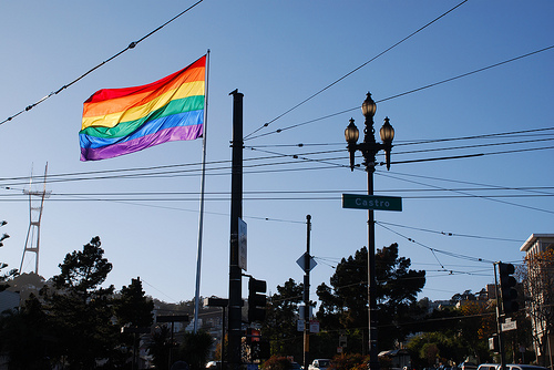 gay flag san francisco