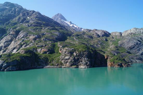 BPO 2013 Mountains carved by glaciers near Glacier Bay Alaska