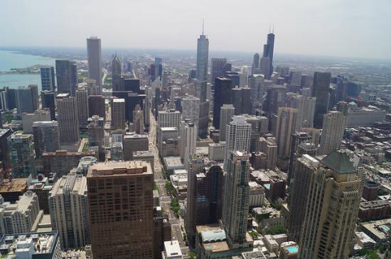 BPO 2013 The Skyline of Chicago from Hancock Center