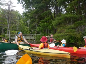 Shawsheen Greenway event at Pomps Pond 6/2017