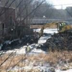 dam removal 12/16 Andover Townsman