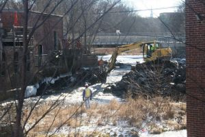 dam removal 12/16 Andover Townsman