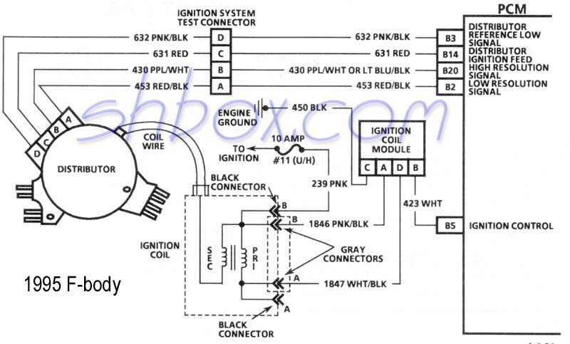 96 caprice spark plug wire diagram