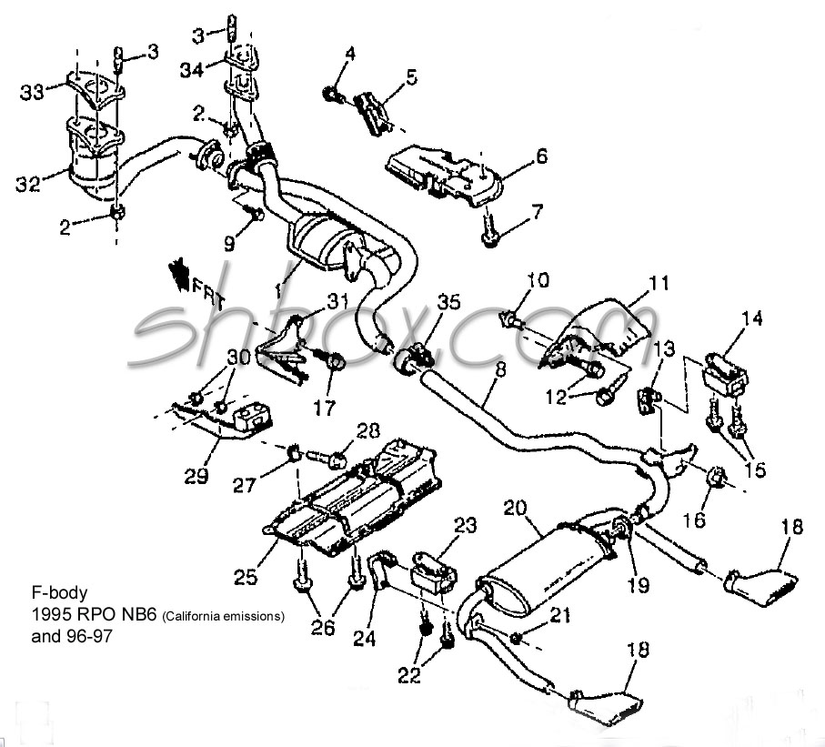 1995 Camaro Wiring Harness Schematic Interior Wiring Diagram
