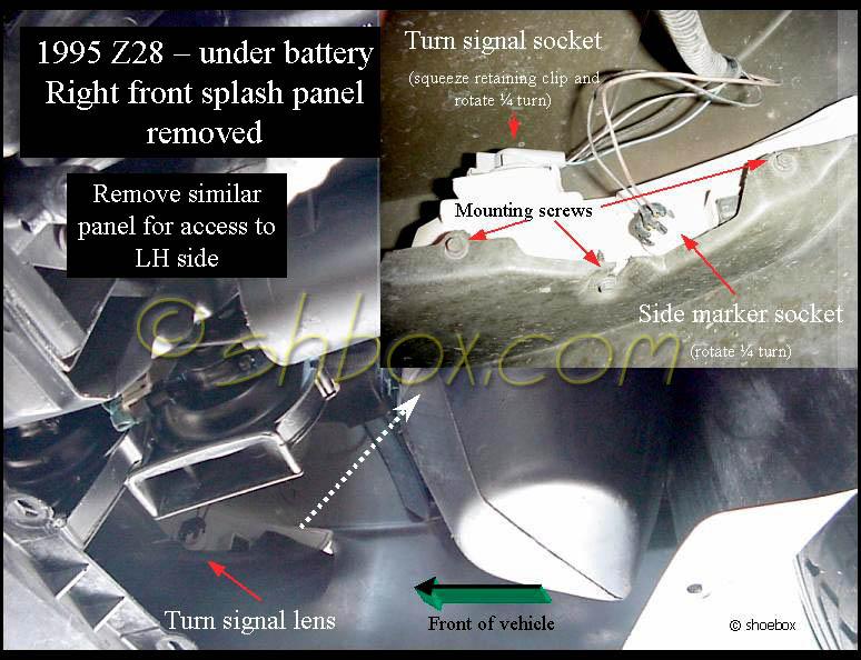 4th Gen LT1 F-Body Tech-Component Location Views