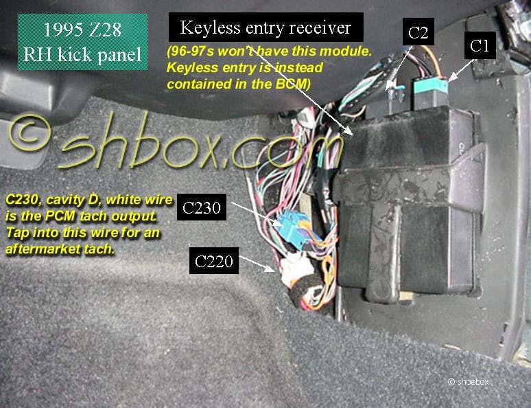 94 Camaro Z28 Fuel Pump Relay Location Wiring Diagram Photos For
