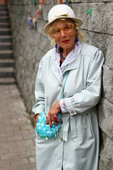 Nail Salon Old Women Street Style 2014 From Russia 6 | She12: Girls