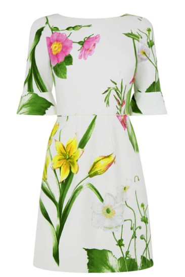 Double Thumbs Dresses #79 | Chelsea Bell Sleeve Dress £70 from Oasis