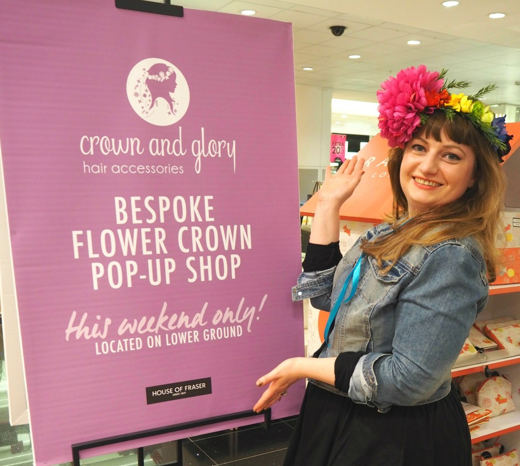 Crown and Glory X House of Fraser