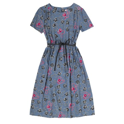 Telephones Belted Tea Dress £65 from Cath Kidston