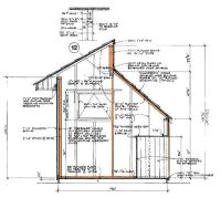 812 Clerestory Shed Plans & Blueprints For Storage Shed