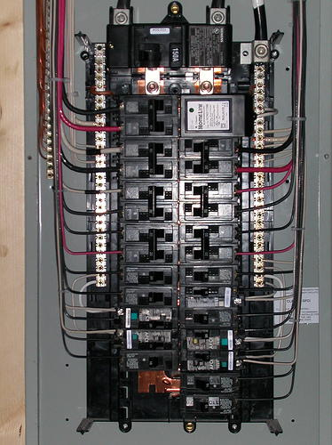 Basic House Wiring Breaker Box Wiring Diagram