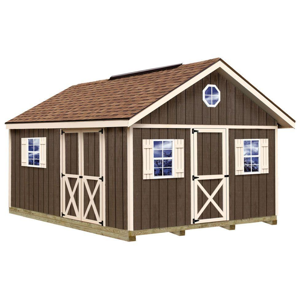 12x16 Best Barns Fairview 12x16 Wood Shed