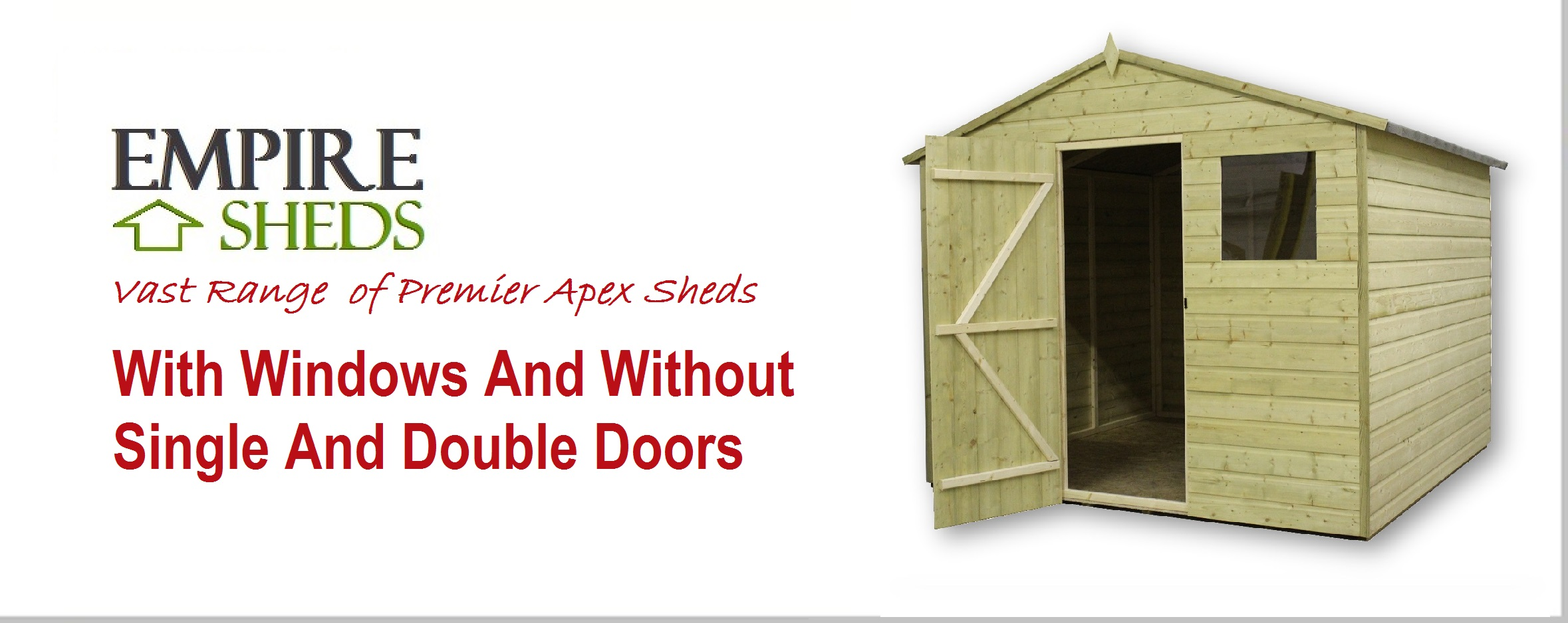 Store Banne 5x4 Garden Sheds Bike Sheds Log Cabins And Garden Storage