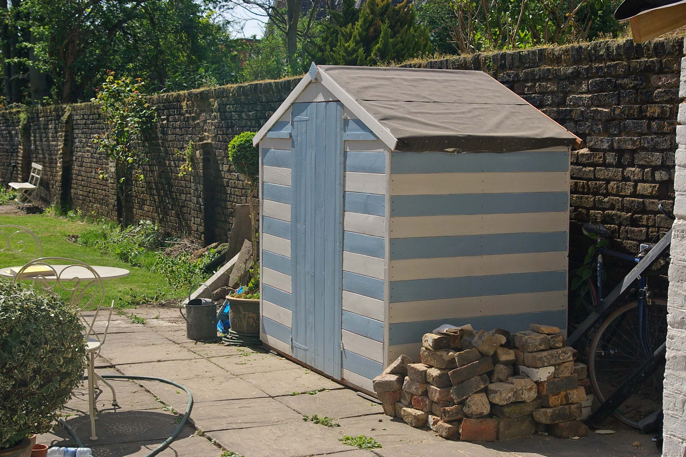 Paint For Garden Sheds