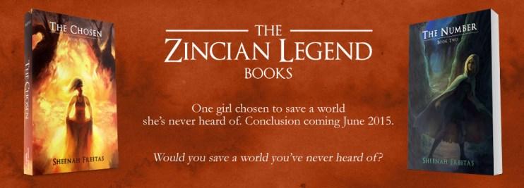 Zincian Legend Books Slide