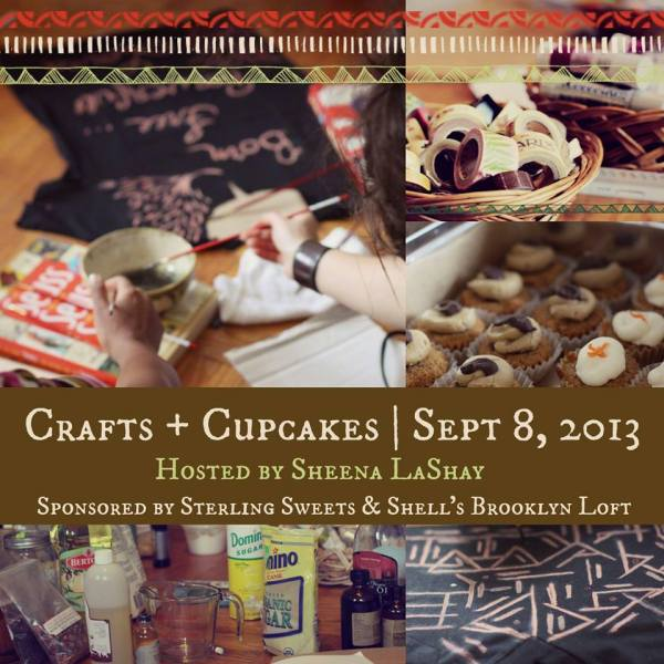 """Crafts + Cupcakes"""