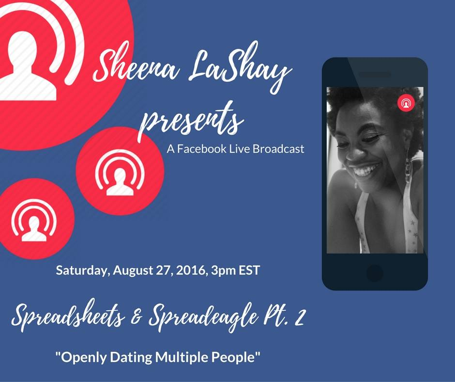 """Openly Dating Multiple People"" - sheenalashay.com"
