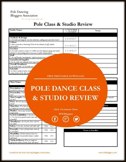 """pole fitness class review"" - sheenalshay.com"