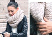 Style Trends: Chunky Knit Scarves