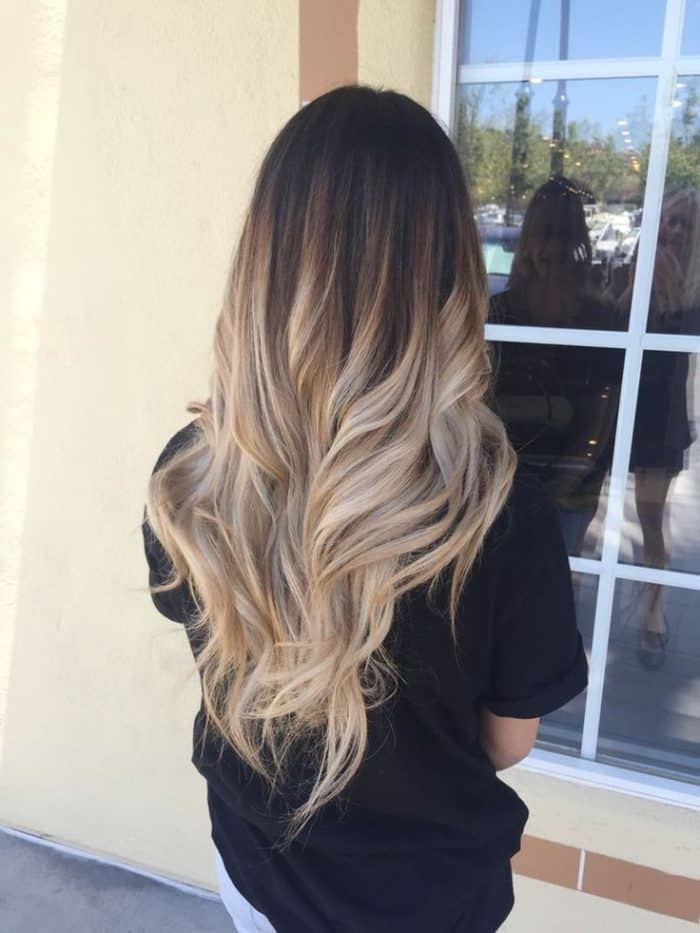 Ombre Blond Braun 22 Cute Dyed Hairstyles Ideas For Ladies - Sheideas