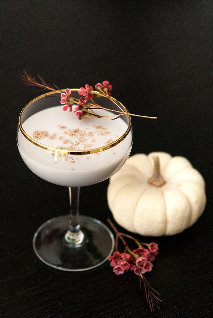 Cocktail Halloween The White Pumpkin Cocktail