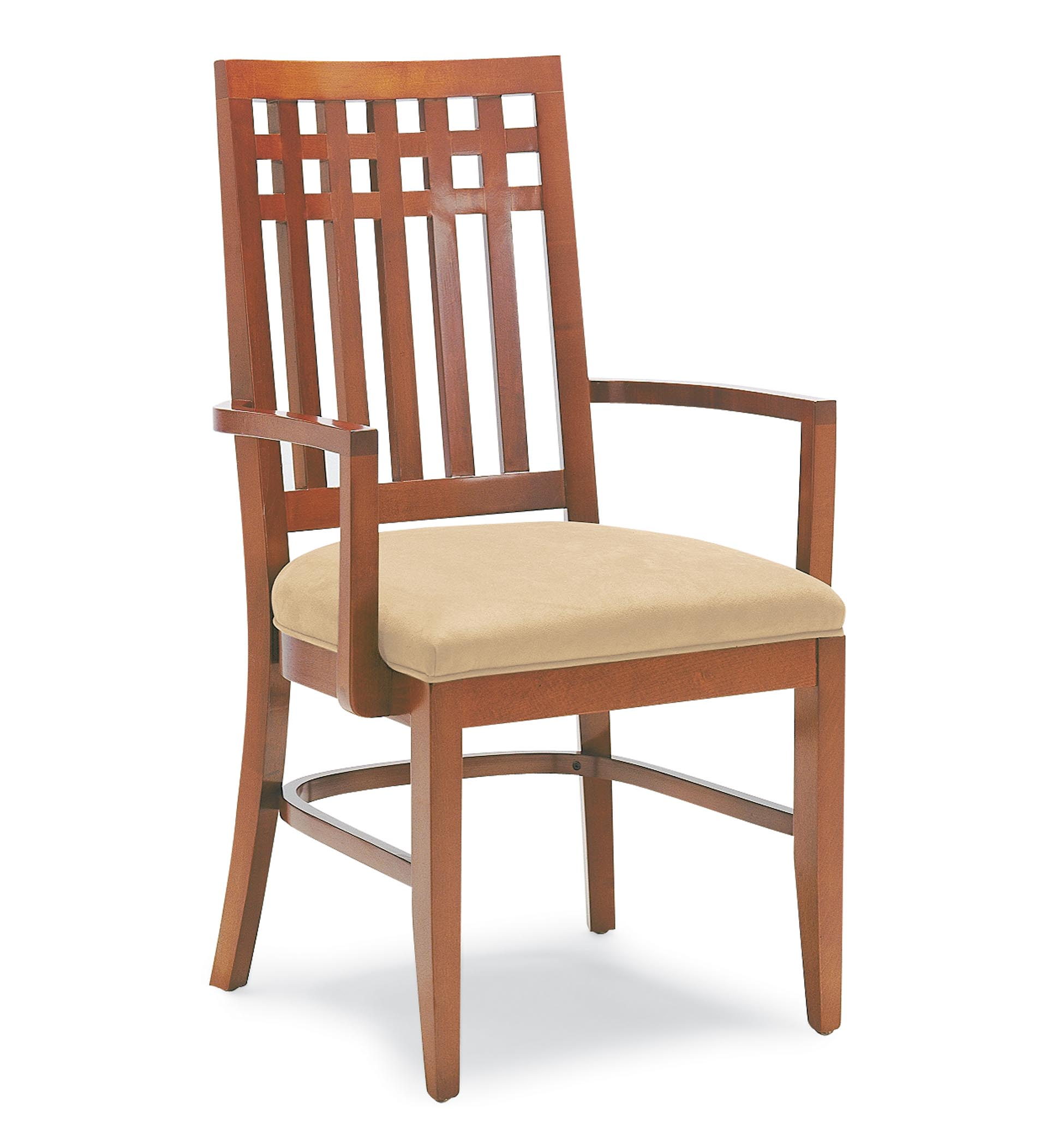 Chair Wooden 3455 Wood Arm Chair