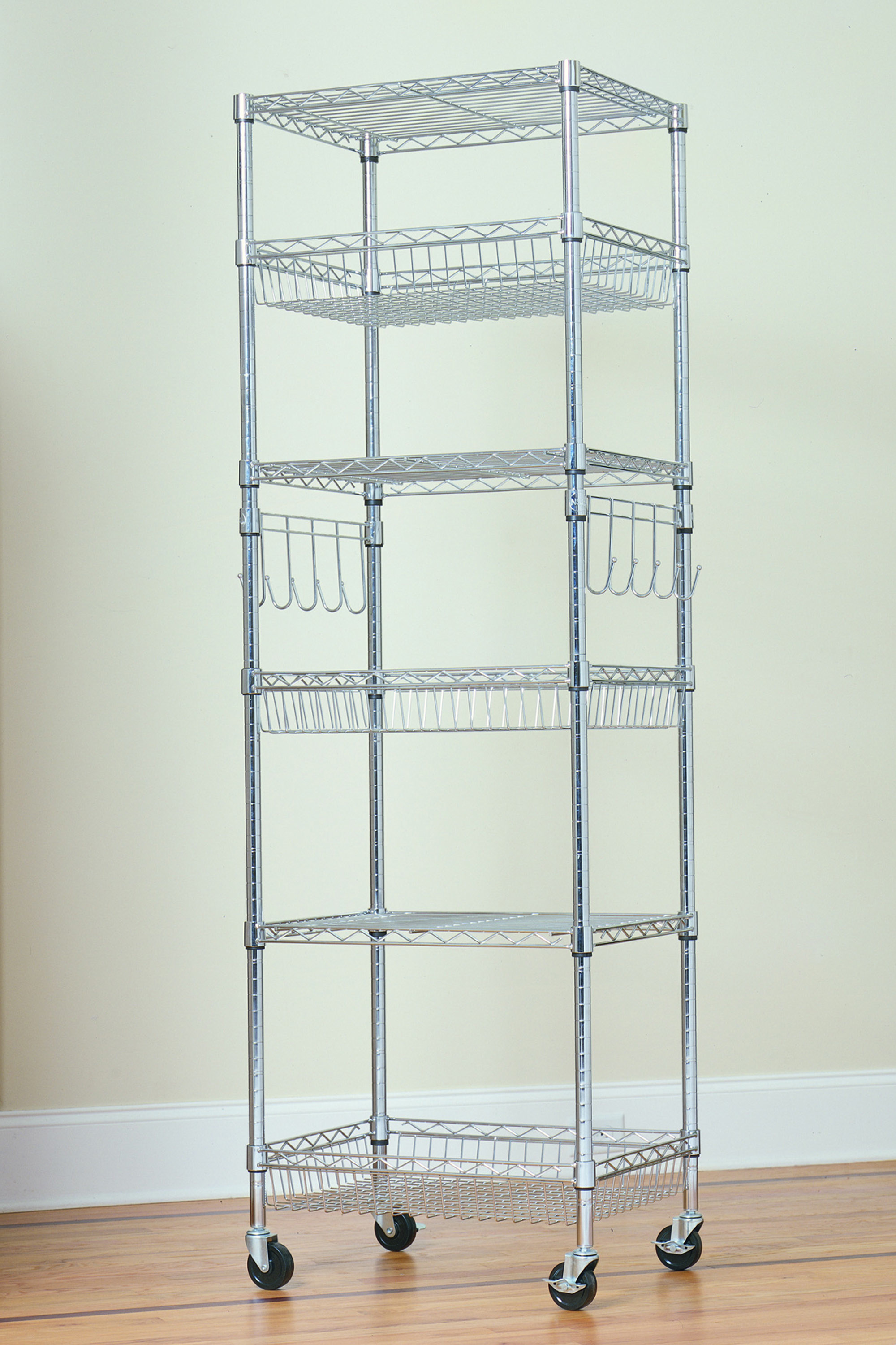 Wire Storage Shelves | Rack Shelves 52 Product Display Shelves Product Display Shelf Units