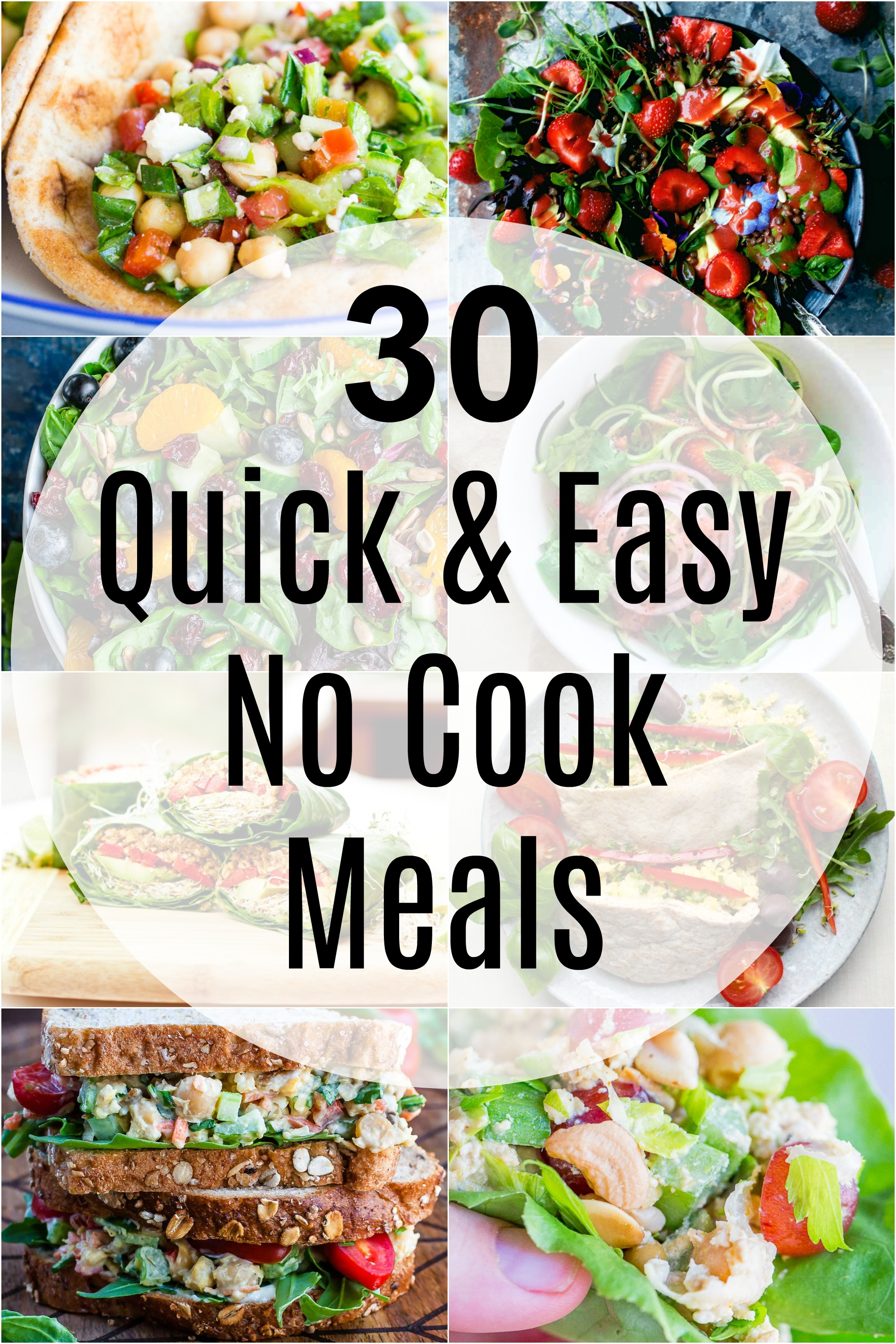 30 Minuten Küche Easy Cooking 30 Quick And Easy No Cook Meals She Likes Food