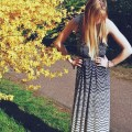 pretty waves tank maxi dress