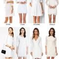 Long Sleeve Bride Shower Dresses