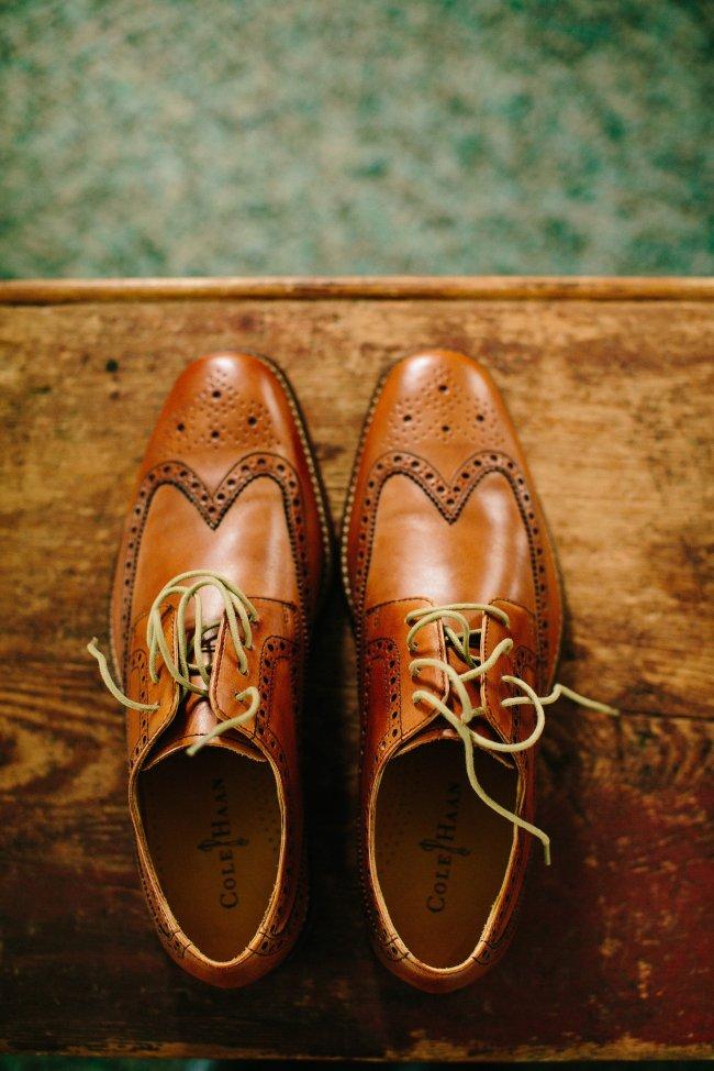 Cole Haan Men's Brown Oxfords