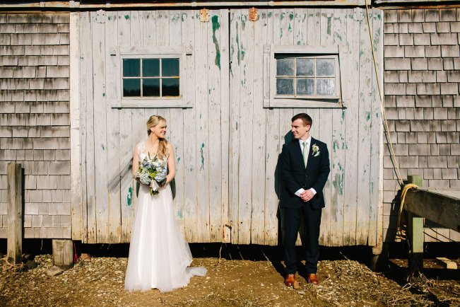 Cape Cod Boat House Wedding