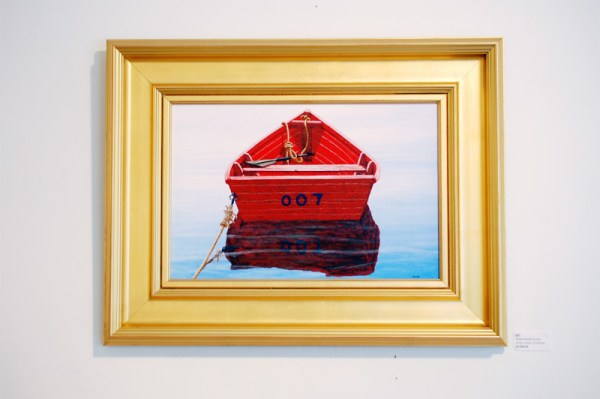 James Cromartie Red Boat
