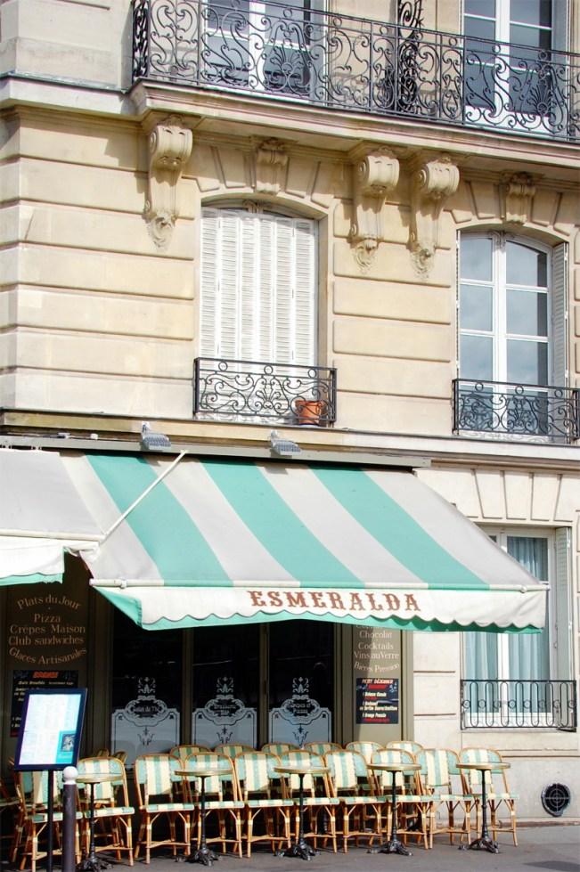 Esmeralda Cafe Notre Dame